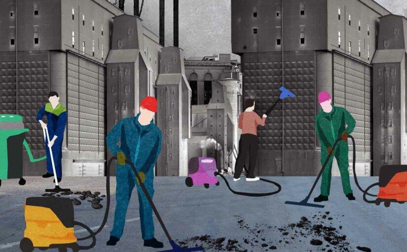 Технологии XXI века превратили уборку из «грязной работы» в сложно устроенную хайтек-индустрию
