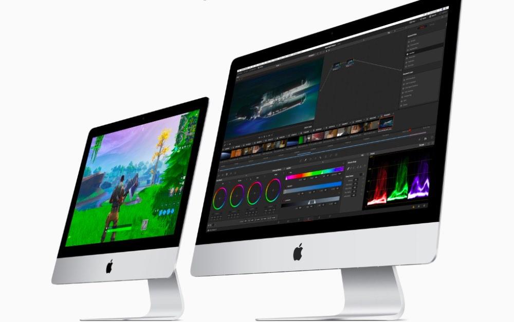 Обновленные Apple iMac 21,5 и 27 дюймов