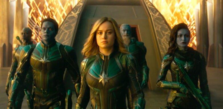 Постер Капитан Марвел Captain Marvel