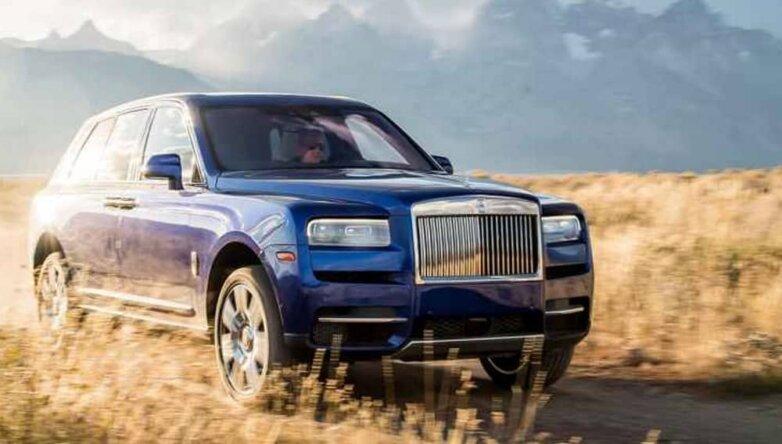 Rolls-Royce Cullinan, машина, автомобиль