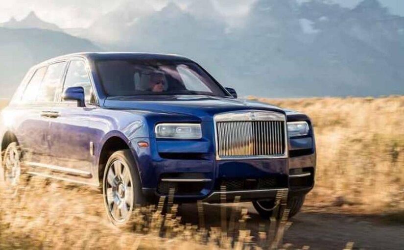 Rolls-Royce возглавил список самых дорогих автомобилей российского рынка