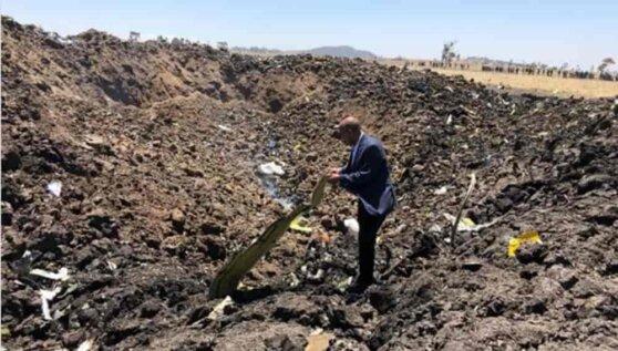 Найдены два черных ящика разбившегося в Эфиопии Boeing 737 Max 8