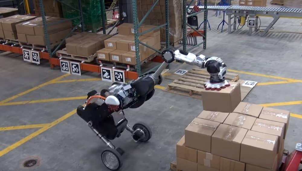 Робот Handle