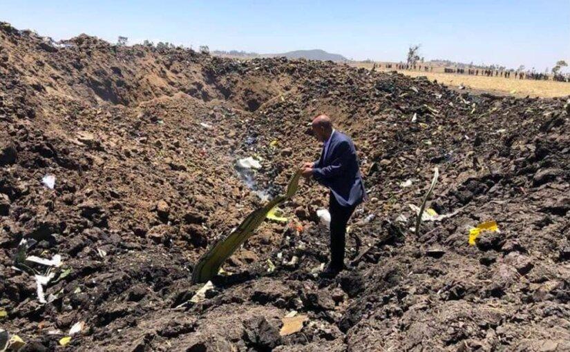 Трое россиян погибли при крушении Boeing 737 в Эфиопии