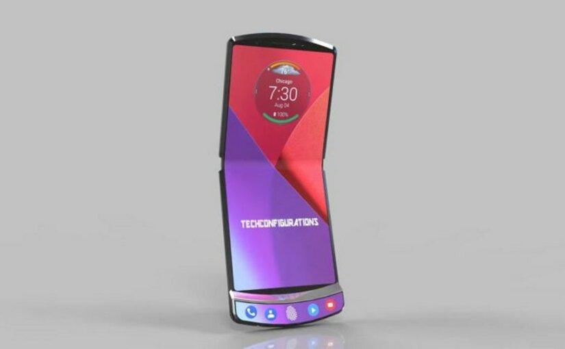 Раскладную модель от Motorola снабдят уникальными функциями