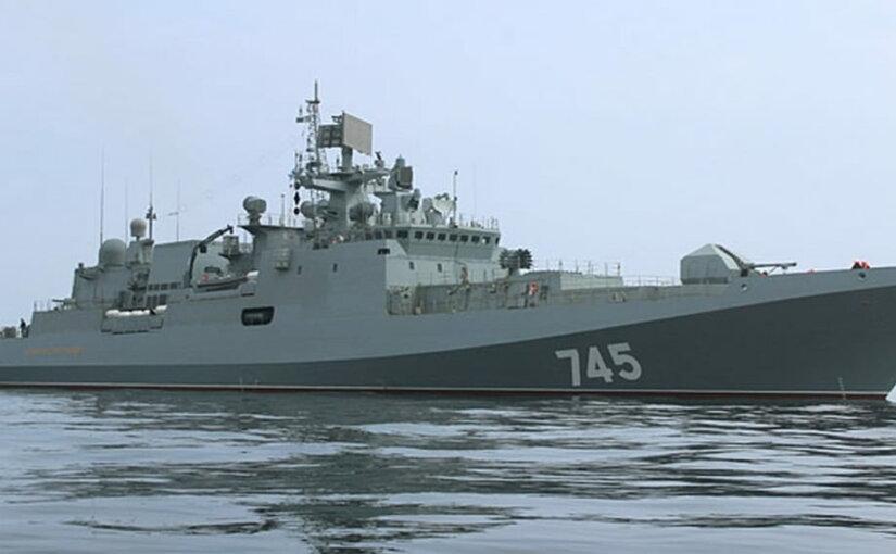 Фрегат «Адмирал Григорович» спустили на воду