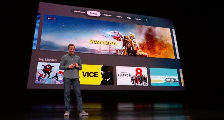 Презентация Apple стриминговая платформа