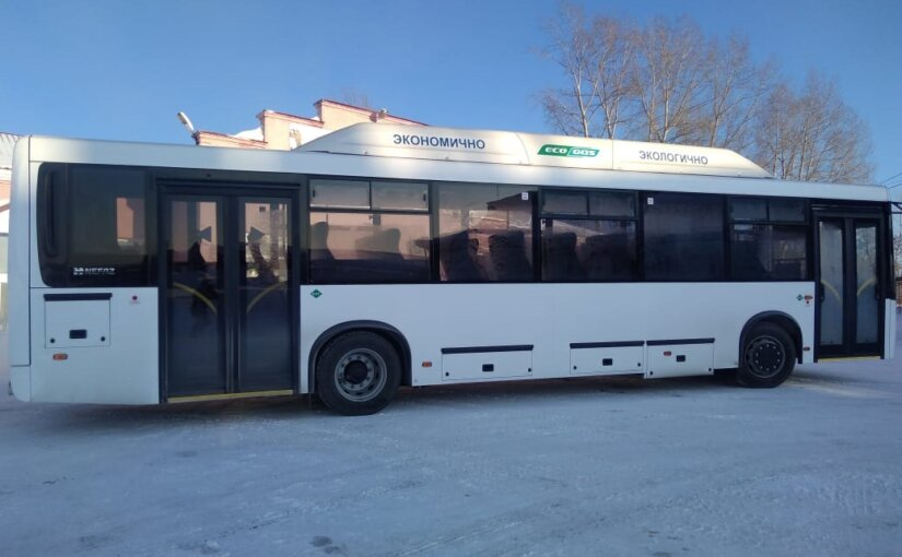 УК «Кузбассразрезуголь» запустила автобусы на метане