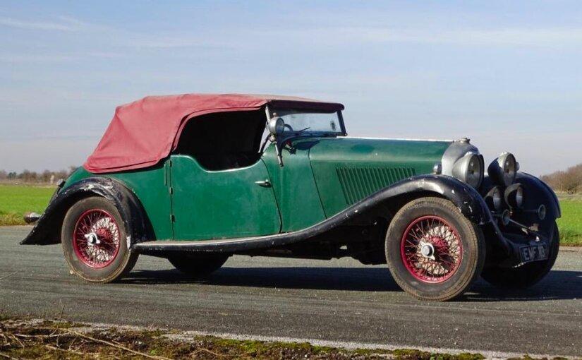 Проведший 30 лет в гараже Bentley ушел с аукциона за 454 тысячи фунтов стерлингов