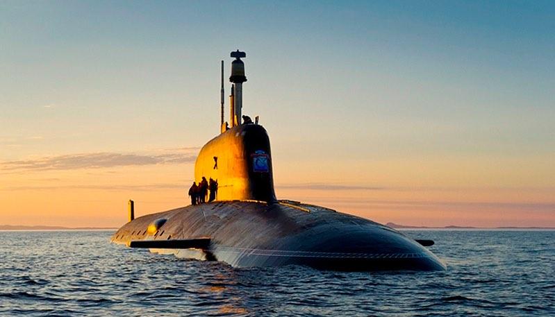 Опубликовано видео испытаний атомного подводного ракетоносца «Борей»