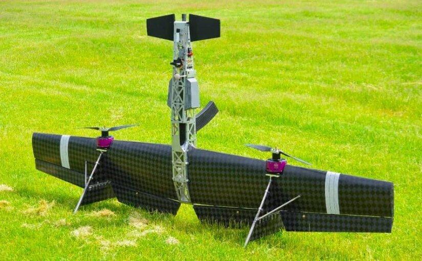 Летающий беспилотный дробовик-перехватчик показали на видео