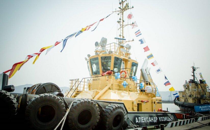 Флот «Восточного Порта» пополнился новым мощным буксиром