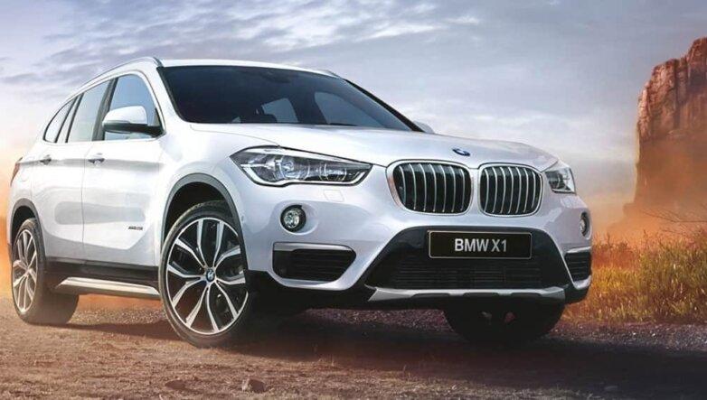 BMW X1, машина, автомобиль