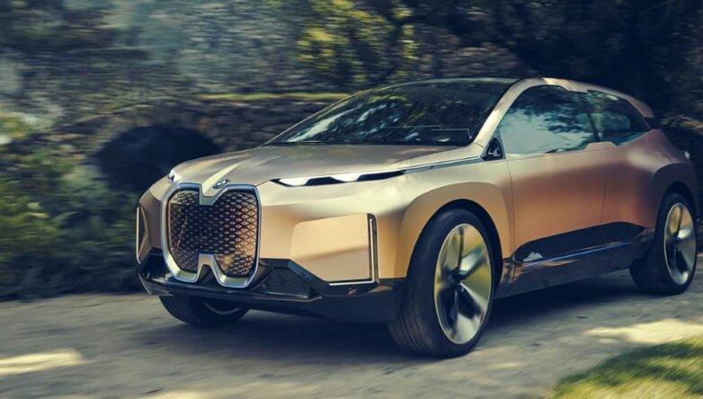 BMW iNext, машина, автомобиль