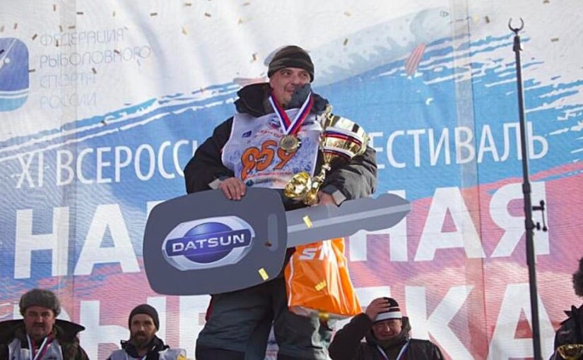 Рыболов-любитель выловил из Московского моря автомобиль