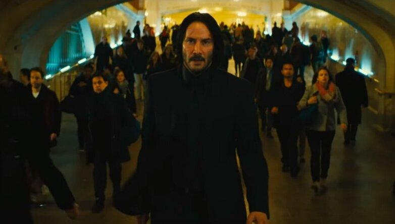Кадр из фильма «Джон Уик: Глава 3 – Парабеллум»