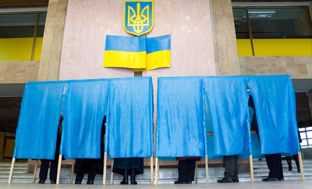 Первый тур президентских выборов на Украине