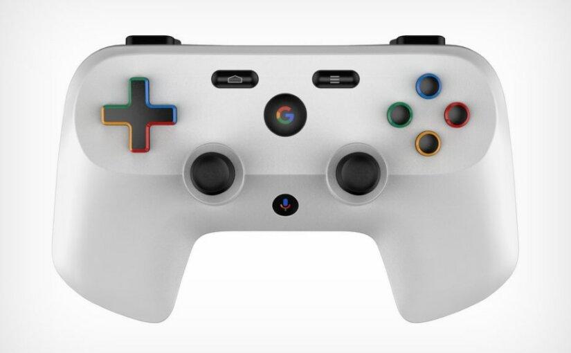 В интернете появились первые изображения игрового контроллера Google