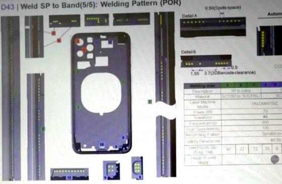В интернет «слили» фотографии чертежей смартфона iPhone XI