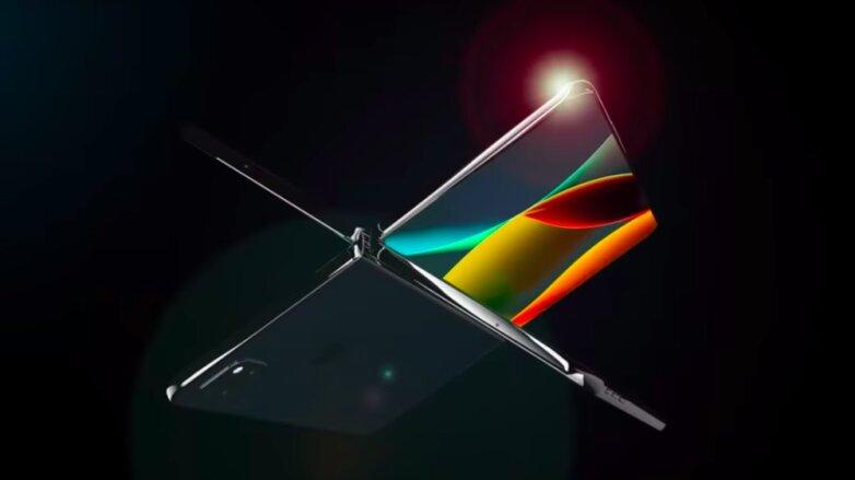 Складной iPhone XFold глазами дизайнера