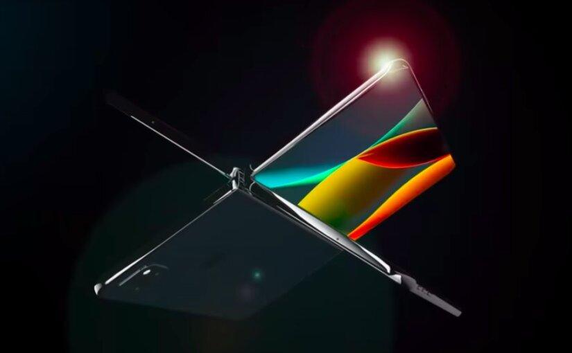 Опубликован трейлер будущего складного смартфона iPhone X Fold