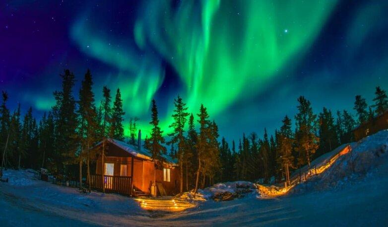 Магнитная буря, северное сияние, полярное сияние