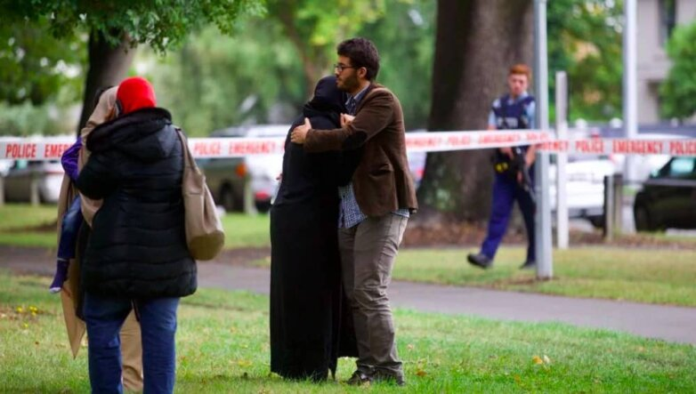 Новая Зеландия, теракт в мечети
