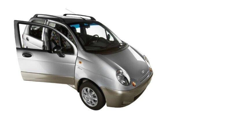 Daewoo Matiz, машина, автомобиль
