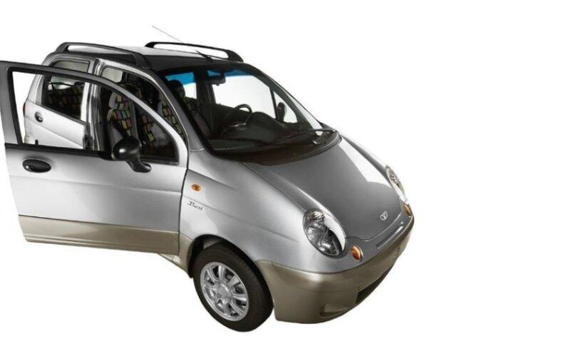 Daewoo Matiz возглавил топ-9 самых популярных малолитражек в России