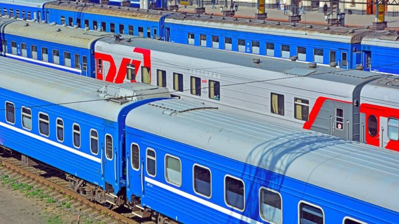 поезд стоянка РЖД