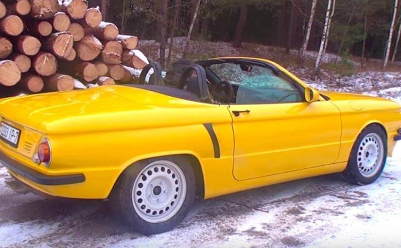 Умелец из Белоруссии «скрестил» Porsche и «Запорожец»