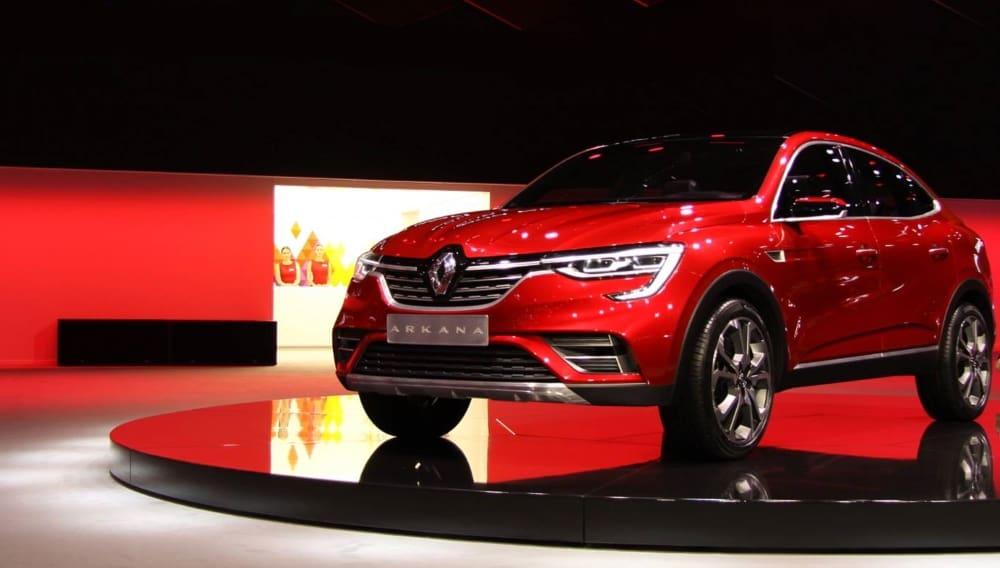 Концепт Renault Arkana 2018 года