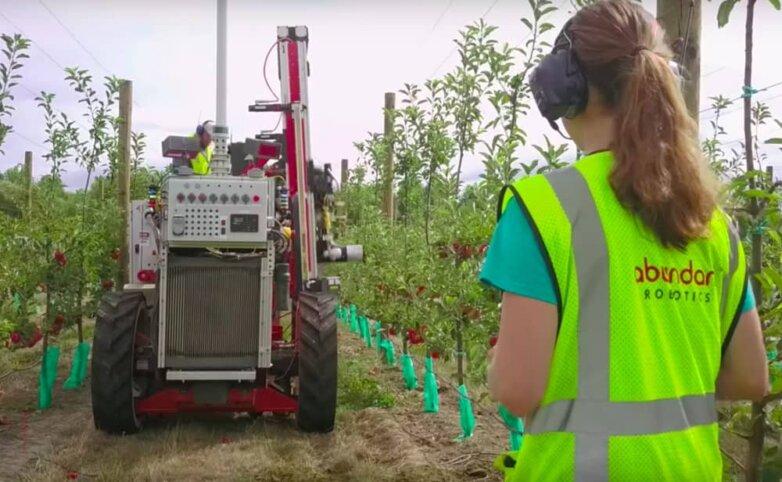 Робот – сборщик яблок