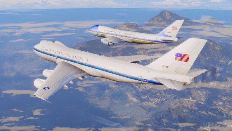 """Самолет """"судного дня"""" США"""