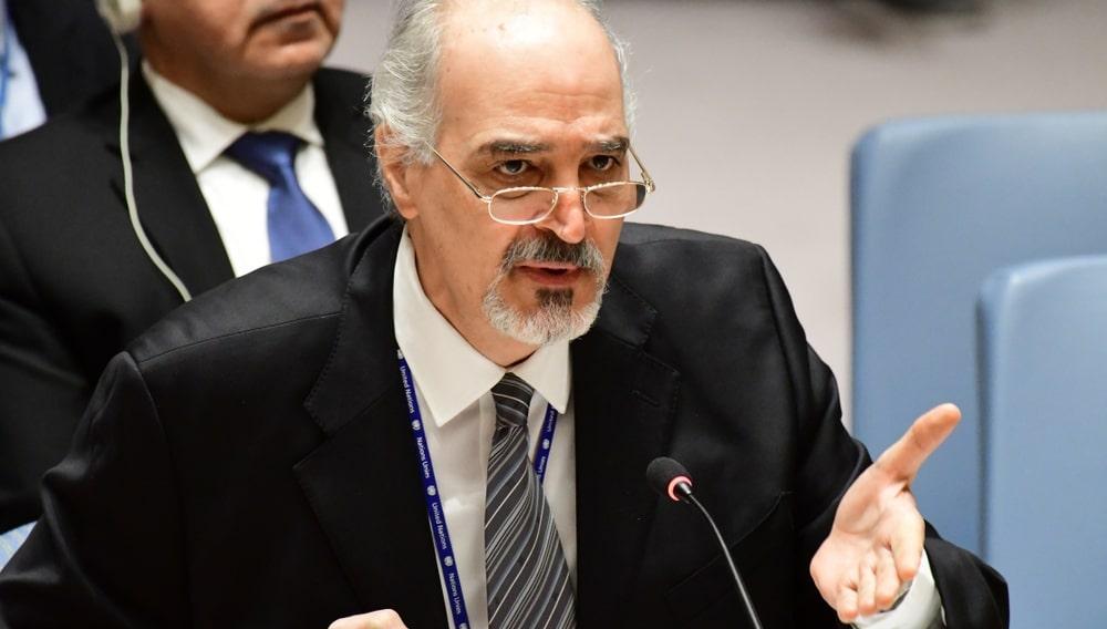 Постпред Сирии при ООН Башар Джаафари
