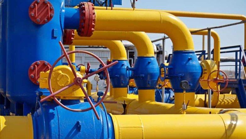 Газ, трубы, газопровод, вентиль