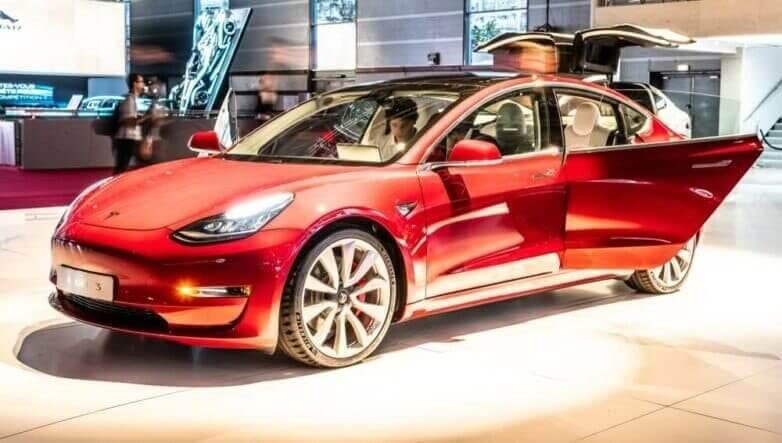 Tesla Model 3, машина, автомобиль