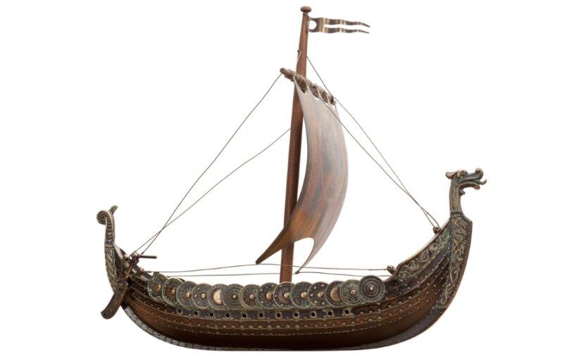 Археологи обнаружили «корабль мертвых» эпохи викингов