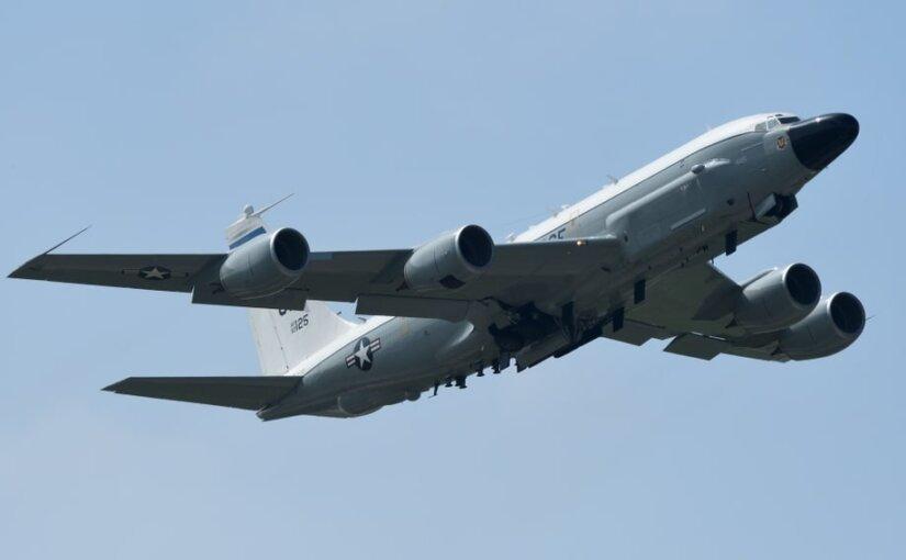 У берегов Крыма заметили самолет-разведчик ВВС США