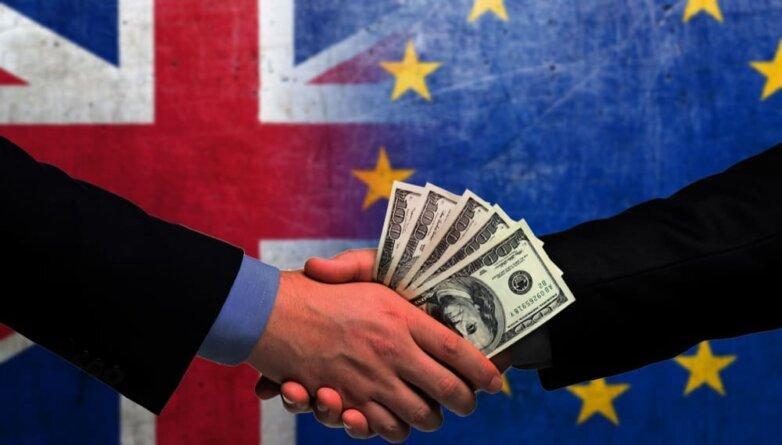 Brexit, деньги, доллары