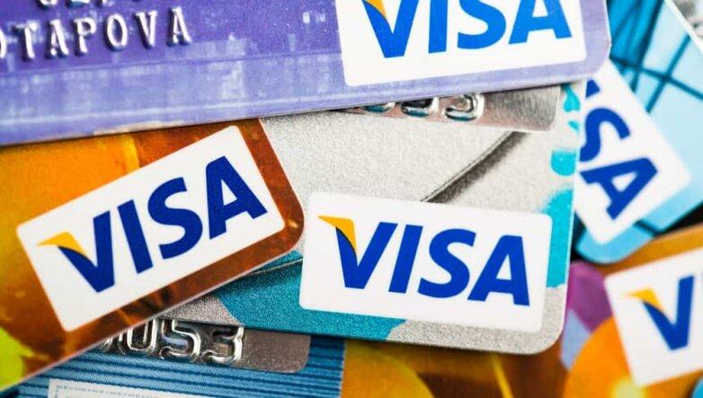 Visa, Виза, карточки, банковская карта