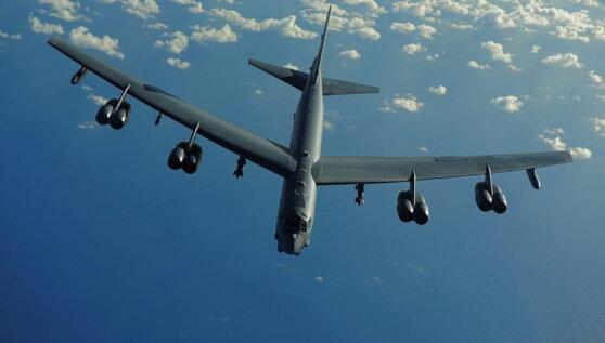 У границ России засекли ядерный бомбардировщик ВВС США
