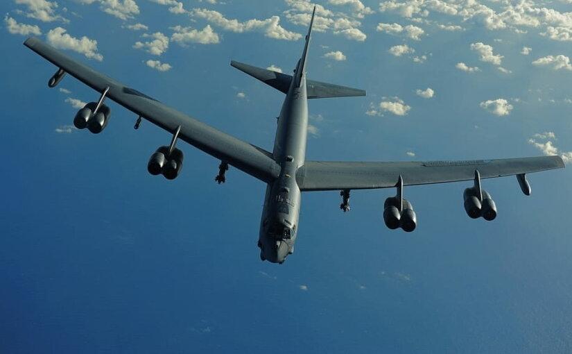 У российских границ заметили ядерный бомбардировщик США