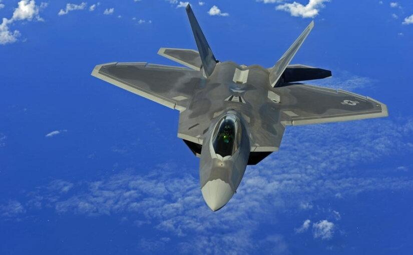 США намерены использовать свои истребители F-22 Raptor для атаки в любой точке мира