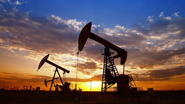 Нефтяная вышка нефть месторождение небо