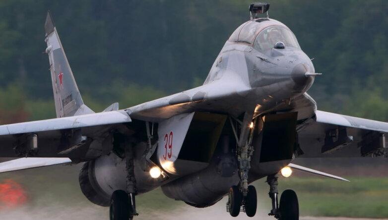 Истребитель МиГ-29, самолёт, армия, ВВС, ВКС