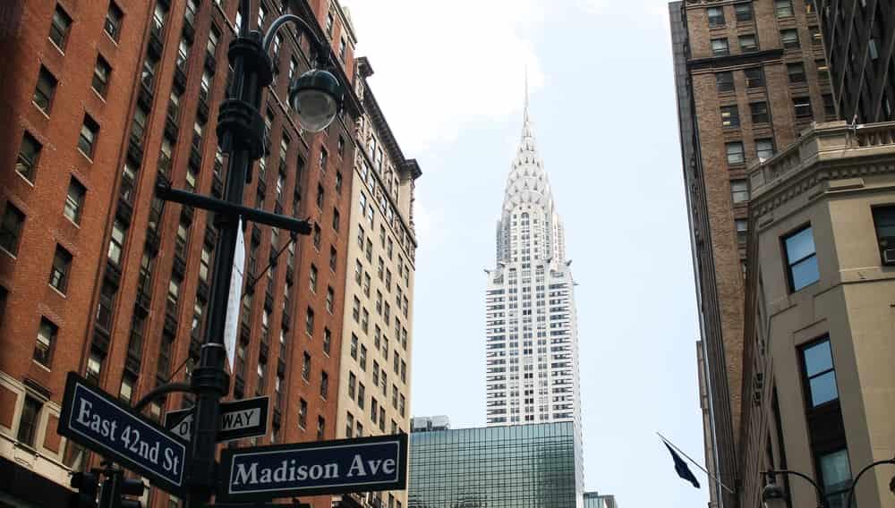 Здание Chrysler Building, Нью-Йорк, США
