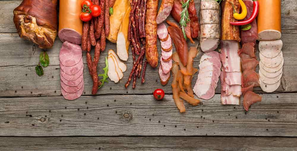 Мясо, колбаса, еда