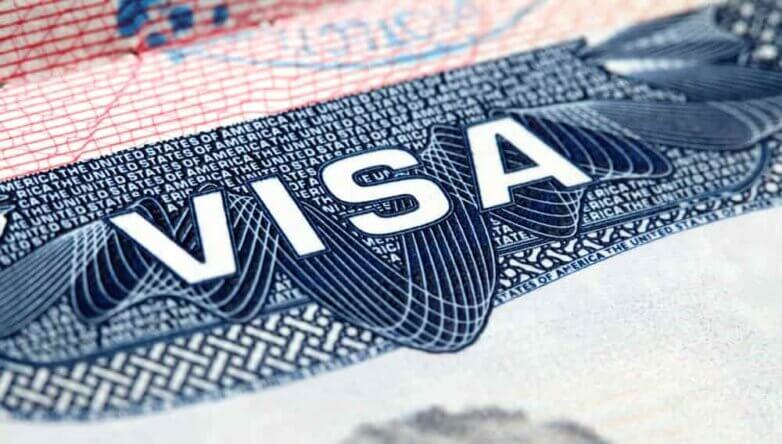 Виза США, visa USA, загранпаспорт, штамп, туризм, путешествия