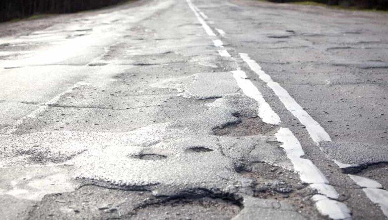 Плохая дорога, асфальт, бездорожье, ямы
